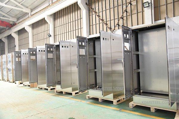 stainless steel enclosures door