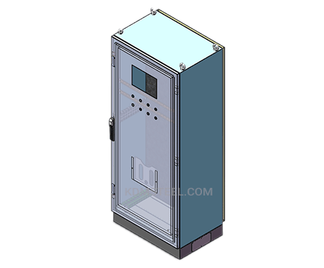 stainless steel single door free standing nema 13 enclosure