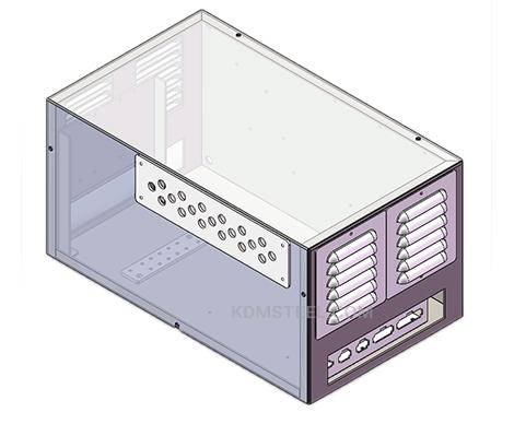 vented NEMA 12 steel cabinet