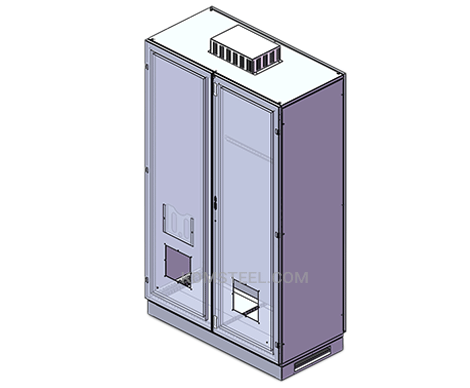 vented free standing IP56 Enclosure