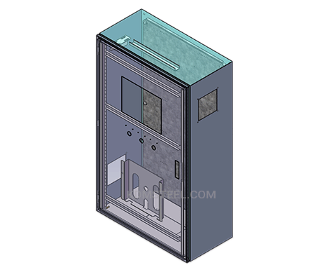 wall mount IP56 Enclosure with window