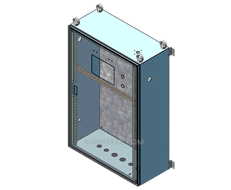wall mount metal marine electrical enclosure