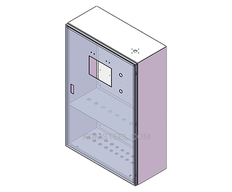 wall mount nema 4x electrical enclosures with view window