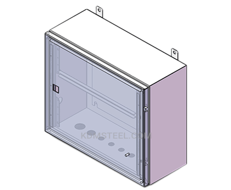 wall mount steel NEMA 3 electrical enclosure