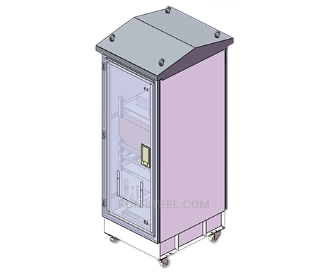 washdown outdoor steel IP65 enclosure cabinet