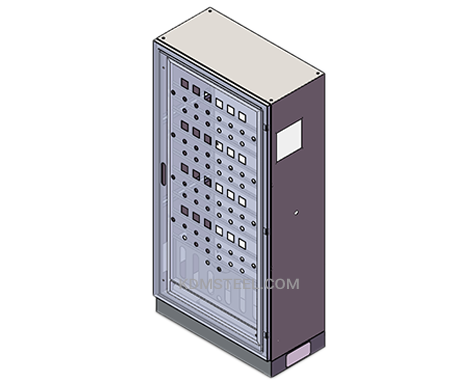 welded push button telecommunications enclosures