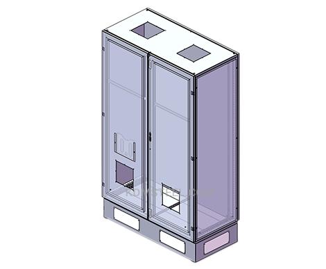 NEMA 3R Double Door Enclosure