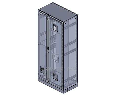 custom Double Door Enclosure