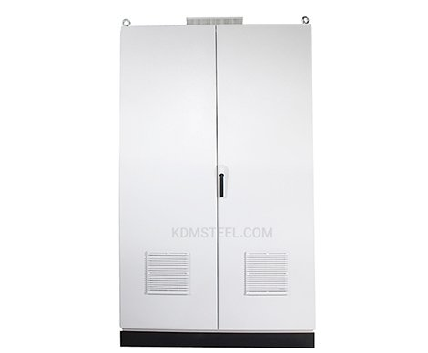 galvanized double door electrical pedestal enclosure