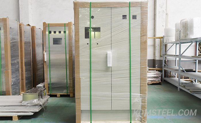 gavalized double door Electrical Pedestal Enclosure