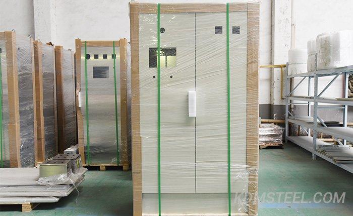 gavalized double door enclosures