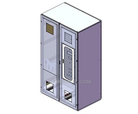 modular Double Door Enclosure