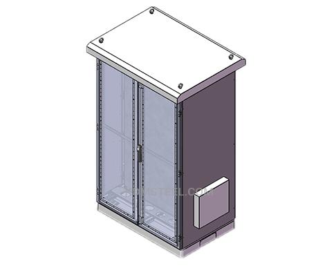 outdoor NEMA 4X Double Door Enclosure