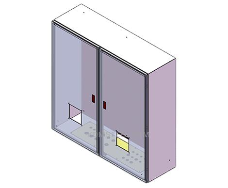 stainless steel Double Door Enclosure