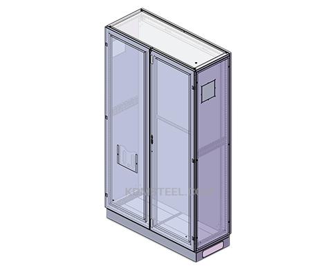 stainless steel base Double Door Enclosure