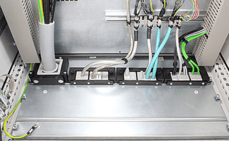 Cable management systems-entry frames