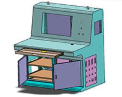 Custom control panel enclosure