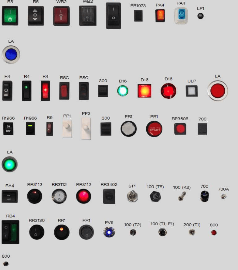 Different kinds of switches