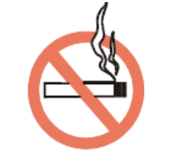 """Do not smoke"" symbol"