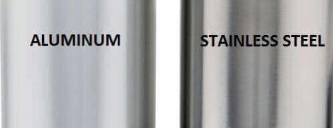 Aluminum vs stainless steel copy 2