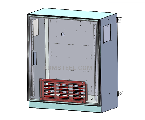 Custom VFD Enclosure CAD degsin
