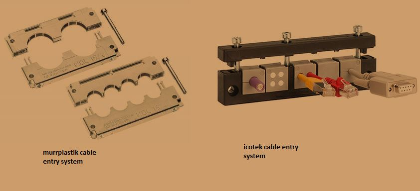 Cable entry system designs