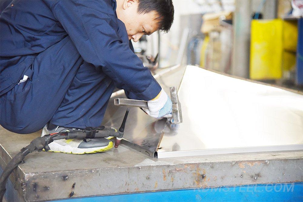 Generator Tap Box welding