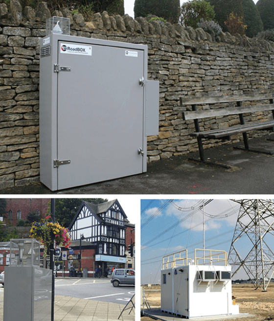 IP55 enclosures outdoors