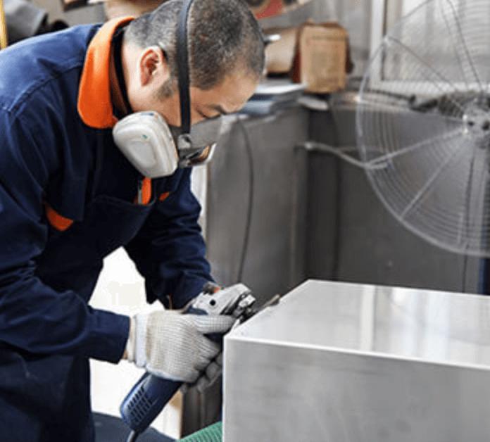 Polishing an enclosure