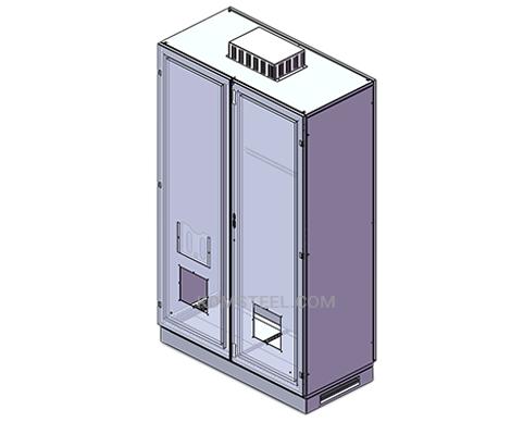 stainless steel double door UL Enclosure