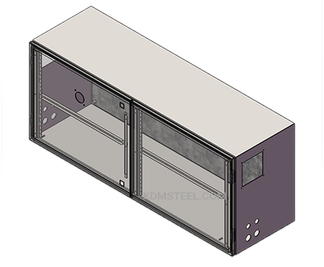 stainless steel double door VFD Enclosure