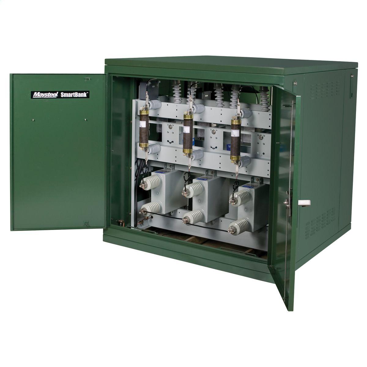 Medium voltage pad mount electrical enclosure