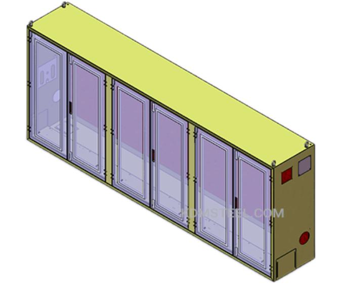 Multi-door enclosure