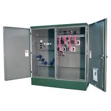 Three-phase pad mount electrical enclosure