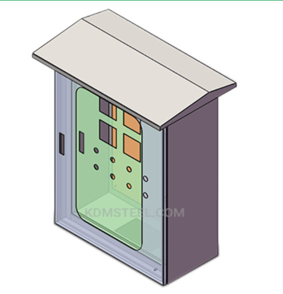 Wall-mounted enclosure
