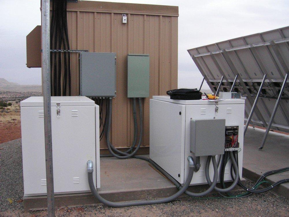 Powder-Coated Solar Battery Enclosure/cabinet