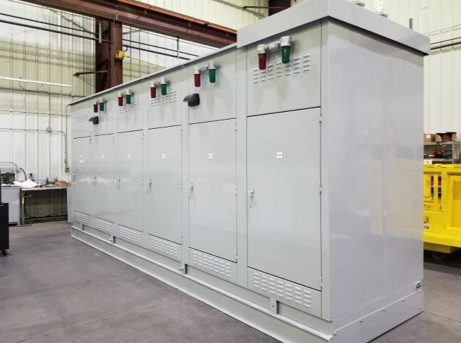 0 custom switchgear enclosure