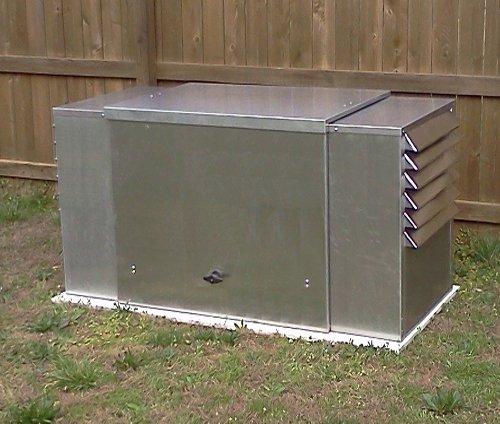 Outdoor Gas Generator Enclosure