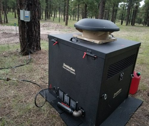 Soundproof Gas Generator Enclosure