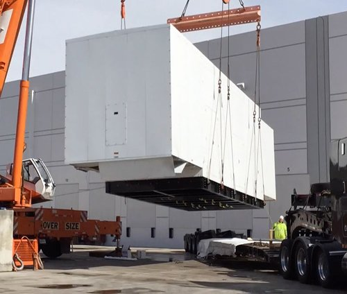 Custom Gas Generator Enclosure