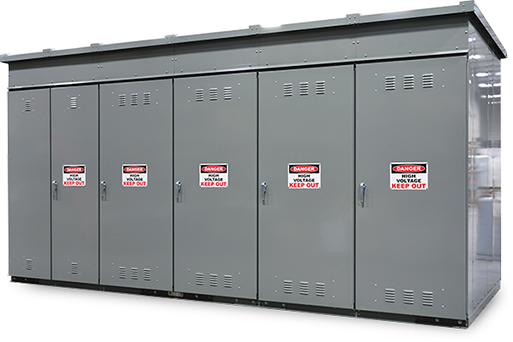 metal-enclosed switchgear enclosure