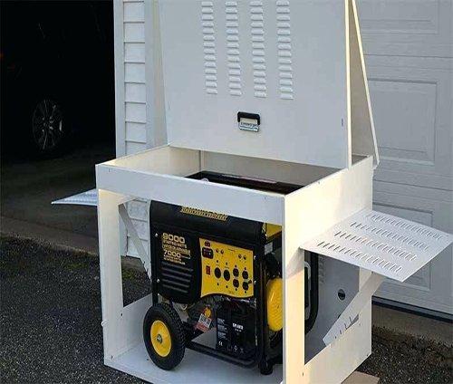 Portable Gas Generator Enclosure