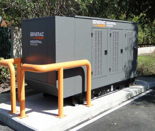 Industrial Gas Generator Enclosure