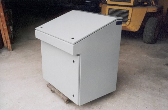 Custom Electrical Console Enclosure