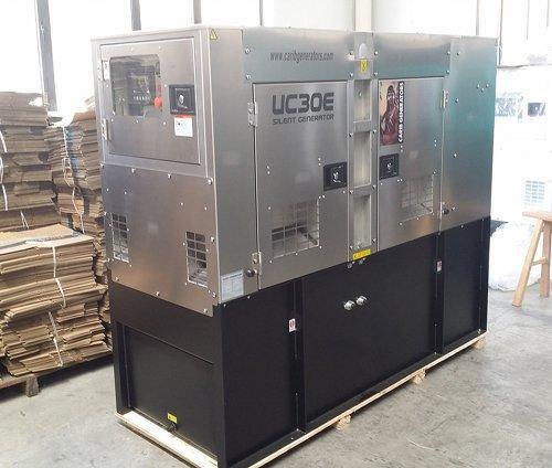 Stainless Steel Gas Generator Enclosure