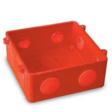 Orange PVC Junction Box