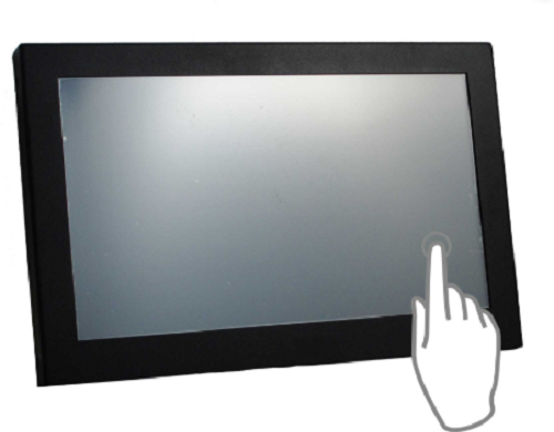 Touch screen LCD Monitor Enclosure