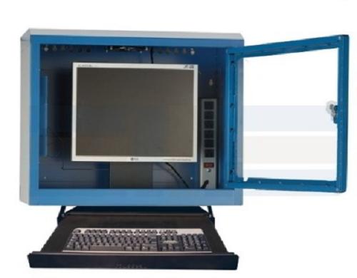 Wall mounted LCD Monitor Enclosure