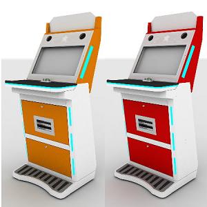Arcade Computer Kiosk Cabinet Machine