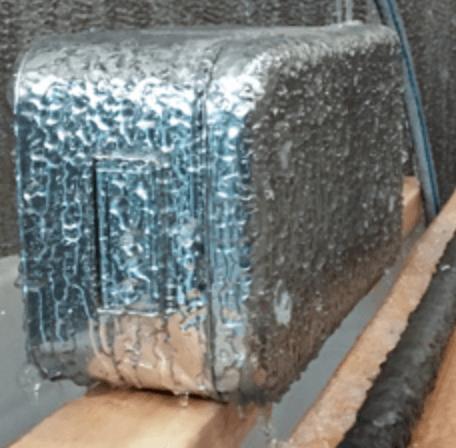 External icing test